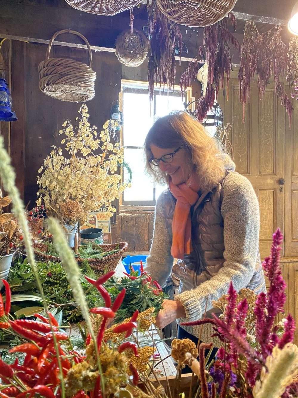 Nellie Gardner Flower Fields Horticulturist