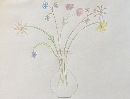 Nellie Gardner Flower Fields Childhood Sketches